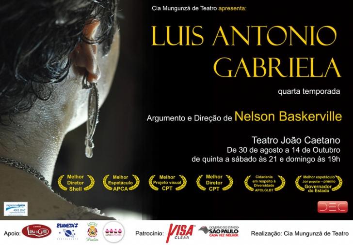 Luiz Antonio - Gabriela - cartaz
